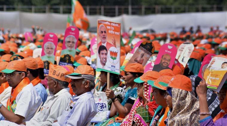 exit polls maharashtra
