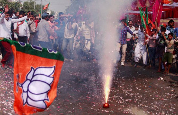 BJP gets majority in Haryana