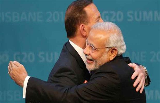 Narendra Modi Meet Tony Abott