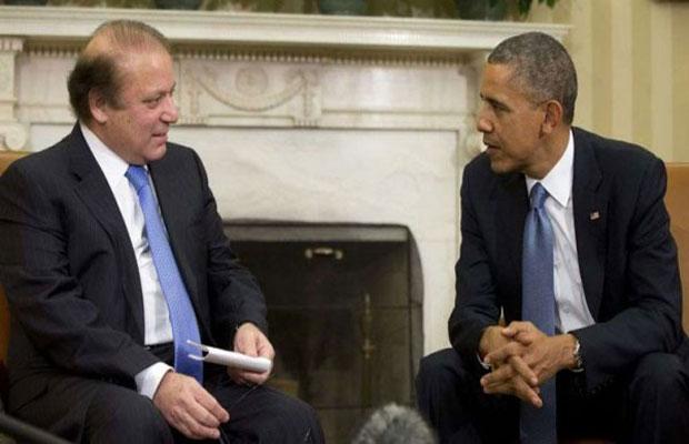 Obama Talk Sharif Kashmir