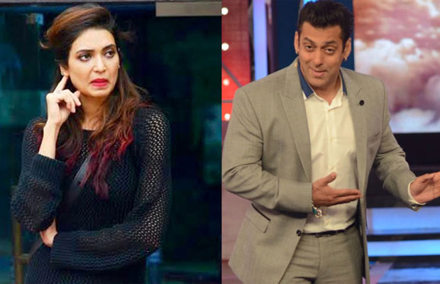 Bigg Boss 8: Karishma Cry Salman Khan Angry