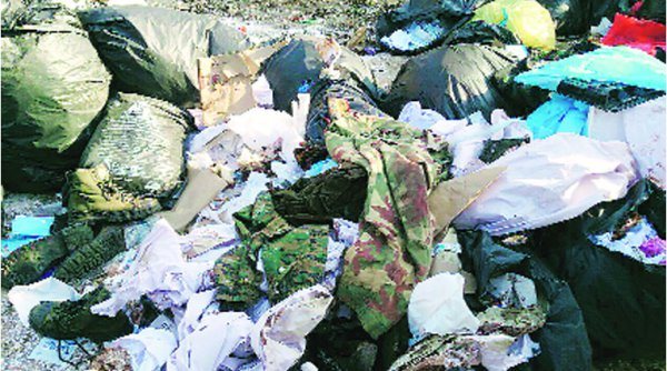 politics with remains of CRPF dead