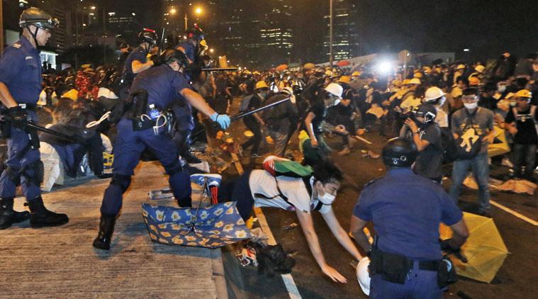 Hong Kong protesters revitalise flagging movement