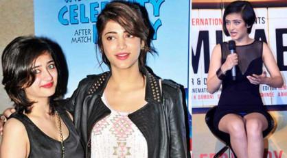 Akshara Haasan: अक्षरा सिनेमा में अपने माता-पिता और बड़ी बहन श्रुति के पदचिन्हों पर चल पड़ी हैं। सुनहरे पर्दे पर उनका आगाज आर बाल्की की फिल्म ''शमिताभ'' से हो रहा है जिसमें अमिताभ बच्चन और धनुष हैं। (एक्सप्रेस फ़ोटो)