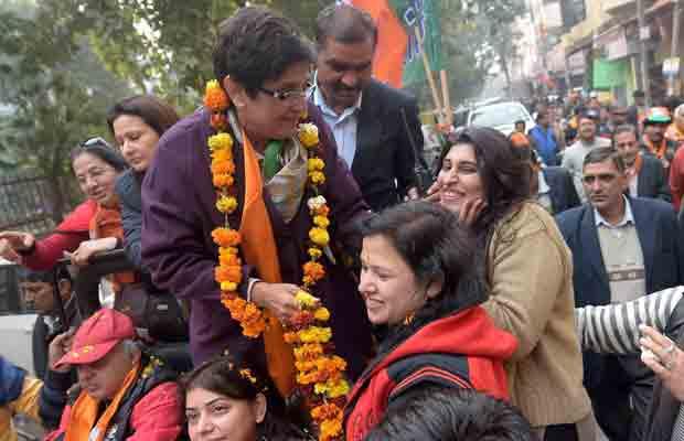 Kiran Bedi, Bedi Delhi Polls, Bedi Krishna Nagar, Kiran Bedi Campaign