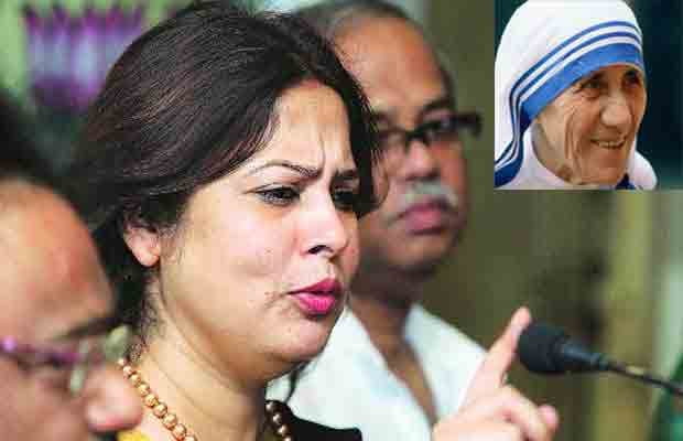 Mother Teresa, Teresa Conversion, Meenakshi Lekhi