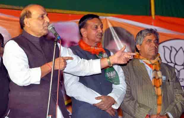 Rajnath Singh, Rajnath Singh Delhi Polls, Rajnath BJP AAP