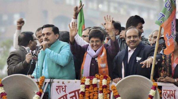 Delhi Elections 2015, BJP, Narendra Modi, Kiran Bedi, Arvind Kejriwal, AAP, Ajay Makan, Congress, Rahul Gandhi, Politics, Delhi News, National News