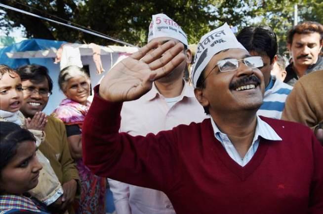 Arvind Kejriwal, Kejriwal Winner, AAP, Delhi Elections 2015, BJP, Narendra Modi, Modi Lehar, AAP Vs BJP, National News, Politics