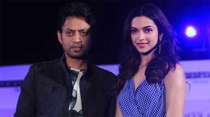 इरफान ने दीपिका के साथ फिल्म 'पीकू' में काम किया है। शुजीत सरकार के निर्देशन में बनी फिल्म 'पीकू' में अमिताभ बच्चन की भी अहम भूमिका है। पहली बार इरफान और दीपिका एक साथ रोमांटिक किरदार निभाते नज़र आएंगे।