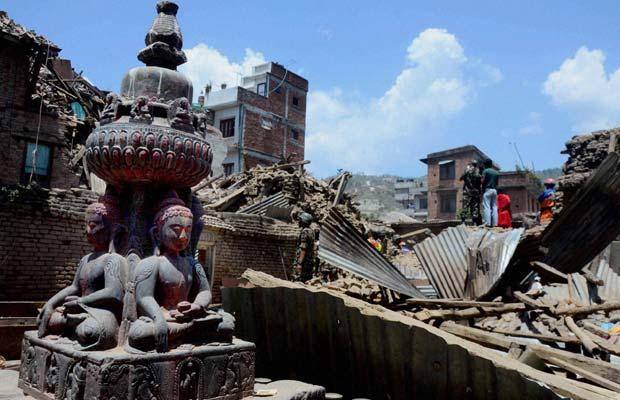 Image result for नेपाल में भूकंप