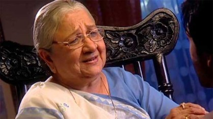 'क्योंकि सास भी कभी बहू थी' टीवी धारावाहिक में 'बा' के किरदार से घर घर में मशहूर हुईं, दिग्गज अभिनेत्री सुधा शिवपुरी का आज यहां निधन को गया। (फोटो: एक्सप्रेस आर्काईव)