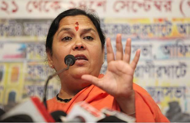 uma bharti, statement, controversial, uttar pradesh, up, news, lucknow news, Uma Bharti, Centre Govt, Water Crisis, Delhi