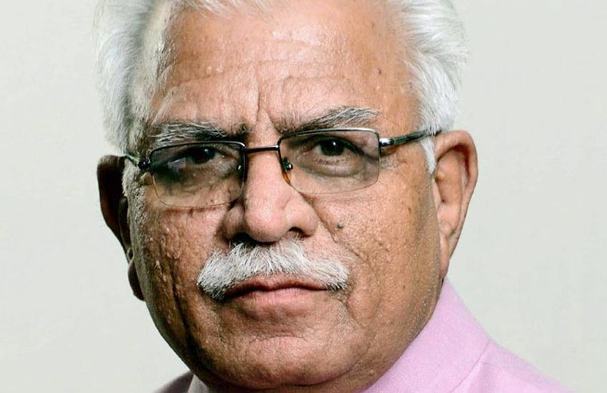 manohar lal khattar, rajeshwarshram, yogi aadityanath, sakshi maharaj, rajpat jansatta