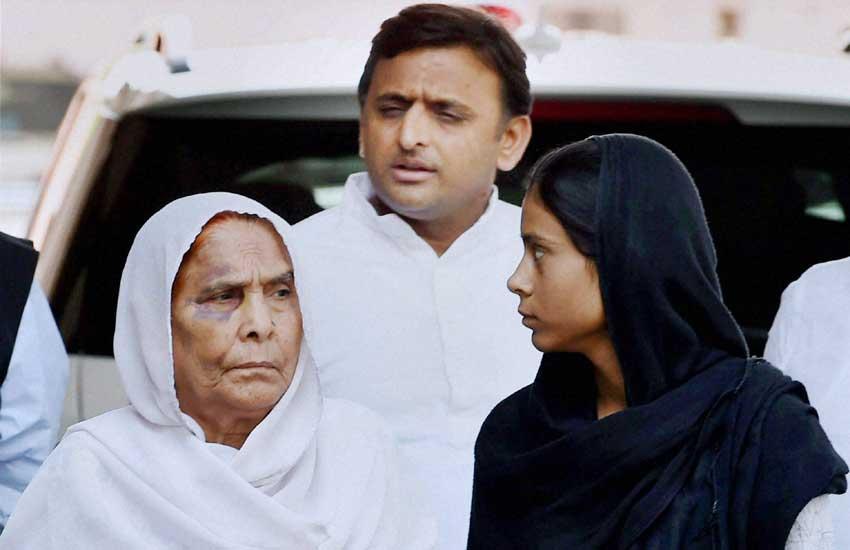 Akhilesh Yadav, Dadri, Dadri Incident, dadri lynching, dadri killing, Beef, Dadri Murder, dadri akhlaq, अखिलेश यादव, दादरी हत्याकांड, बिसाहड़ा कांड, अखलाक, गोमांस