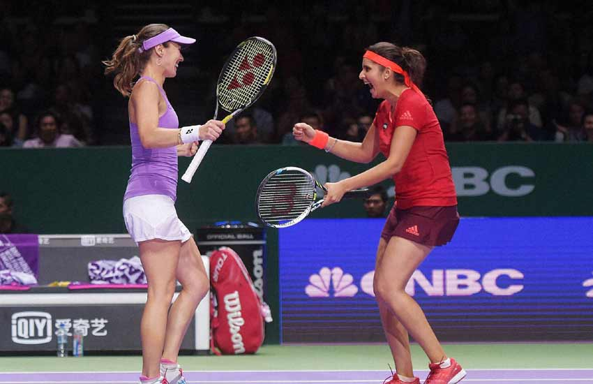 Sania Mirza, Martina Hingis, Australian Open, Australian Open Tennis 2016
