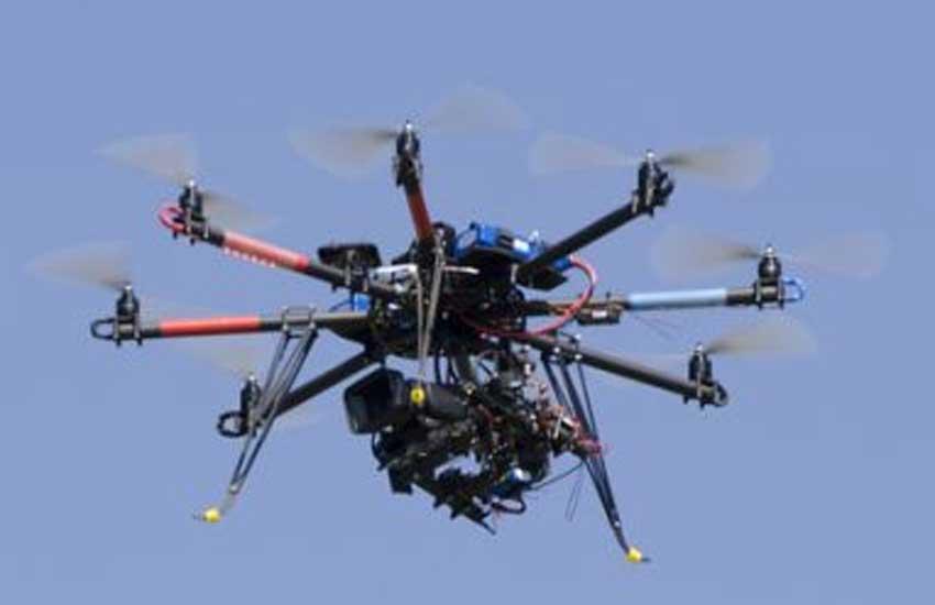 drone crashed, gurgaon, new delhi