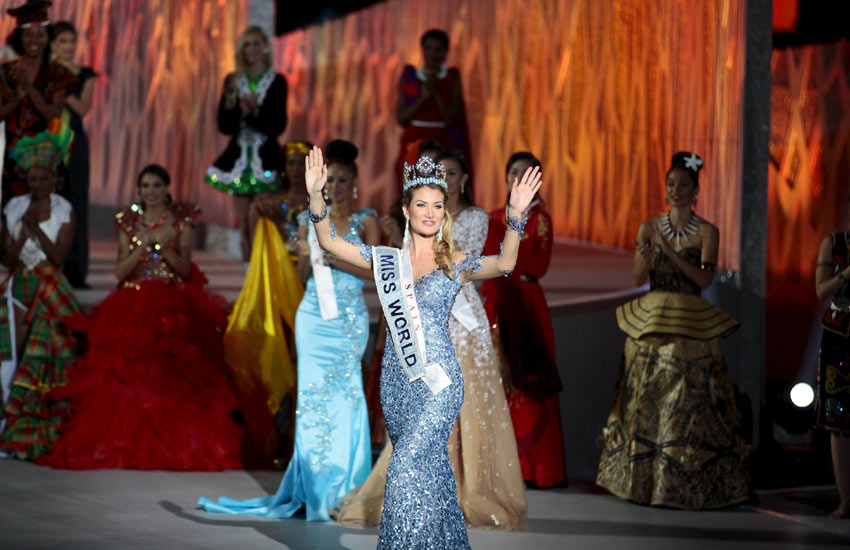 मिस वर्ल्ड 2015, मिस वर्ल्ड 2015 फोटो, मिस वर्ल्ड फोटो गैलरी, MISS WORD, miss world 2015, miss world contest china, Miss Spain, mireia Lalaguna Royo, Sanya, photogallery