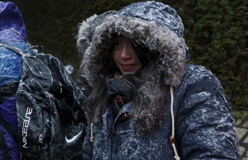 Hong Kong, Hong Kong temperature, Winter, Cold, Snow