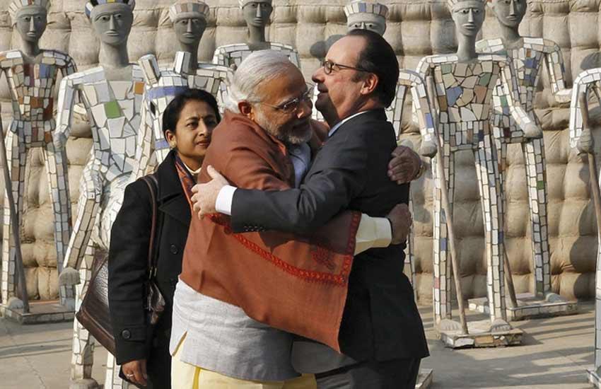 François Hollande, Pathankot Attack, Narendra Modi, François Hollande in India, Rock garden, Chandigarh