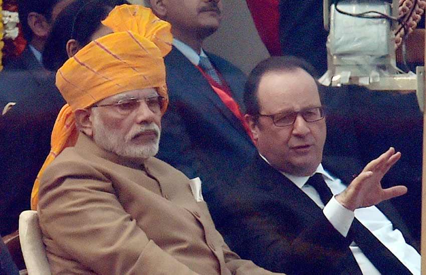 India France Agreement, Narendra Modi, Francois Hollande, Modi Hollande, India France Relations, India, France