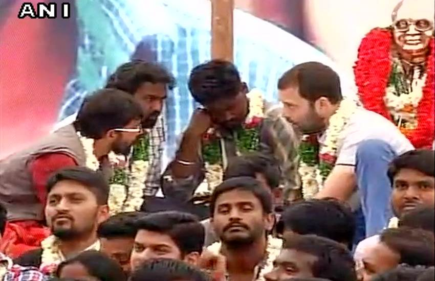 Rohith Vemula suicide, dalit student, ABVP blames, Rahul Gandhi, politics over dead bodies, bandh of colleges, Hyderabad Central University, रोहित वेमुला, राहुल गांधी, एबीवीपी