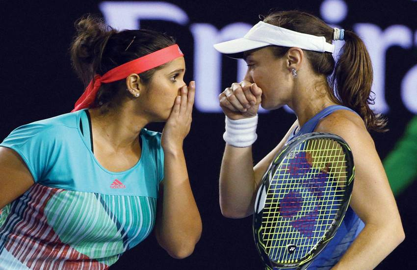 Australian Open, Sania Mirza, Martina Hingis, Australia Open 2016, Tennis