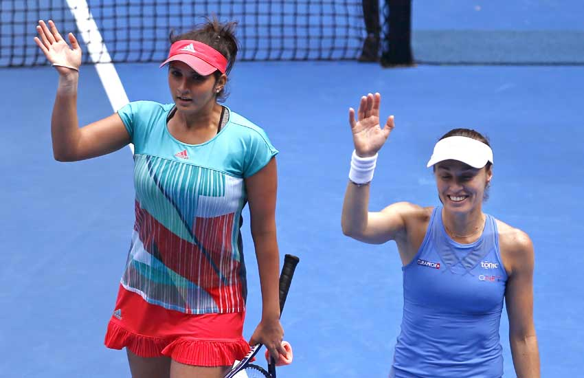 Australian Open 2016, Sania Mirza, Leander Paes, Australian Open