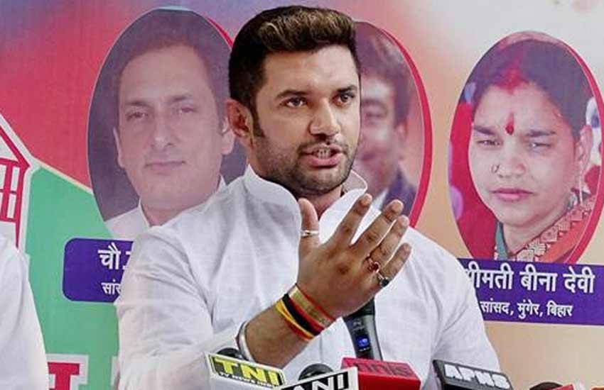 Chirag Paswan, Nitish Kumar, Bihar Govt, LJP, Crime in Bihar