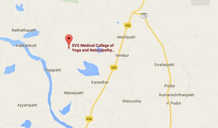 Three girl students suicide, student suicide, SVS Yoga Medical College, suicide, college chairman, Vasuki Subramanian, excess fees, suicide bids, suicide note, E Saranya, V Priyanka, T Monisha, तमिलनाडु आत्महत्या, तीन छात्राओं ने आत्महत्या, छात्राओं की आत्महत्या