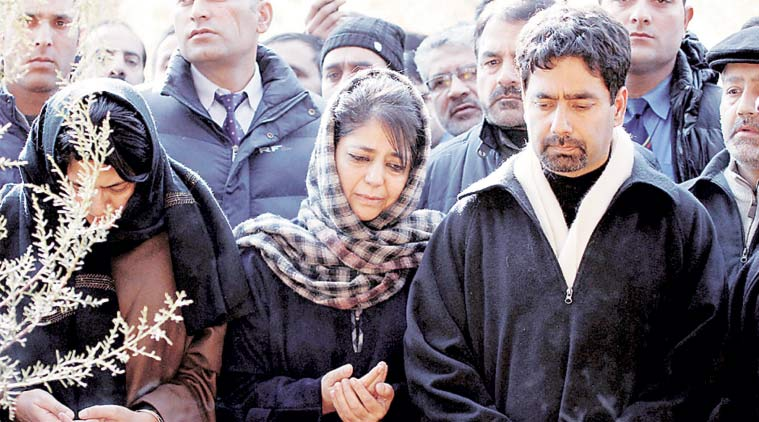 Mehbooba Mufti, Tassaduq Hussain, PDP, Srinagar, Jammu Kashmir