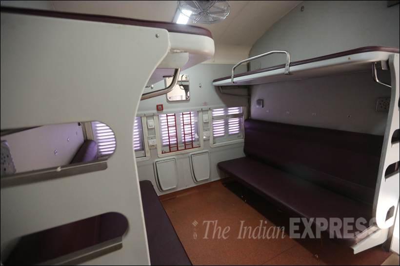MAHAMANA EXPRESS, mahamana Express coaches, Mahamana Express Speed, Mahamana Express fare, Delhi, Varanasi, Delhi to varanasi, Indian railways new train, indian railway, new indian train, new compartment train, IRCTC, indian railway, indian railway, new train coaches, irctc, railway booking, New railway Coaches, indian Railway pics, indian railway photos, improved interior, latest news in Hindi