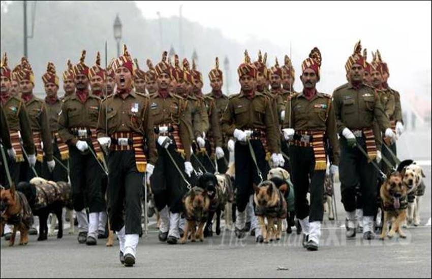 Army dogs, Republic Day LIVE, republic day 2016, republic day 2016 speech, republic day images, PM Modi, Narendra Modi, indian republic day pictures