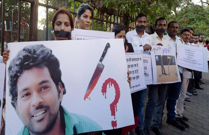 hyderabad central university, Joint Action Committee, pranab mukherjee, Rohith Vemula, dalit student suicide