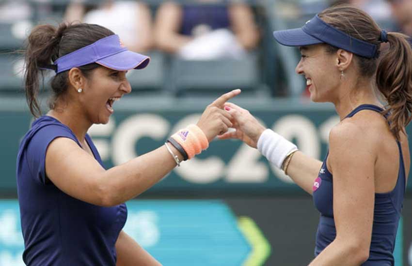 Sania Mirza, Martina Hingis, Sania Martina, Mirza Hingis, WTA Sydney Tennis, Tennis
