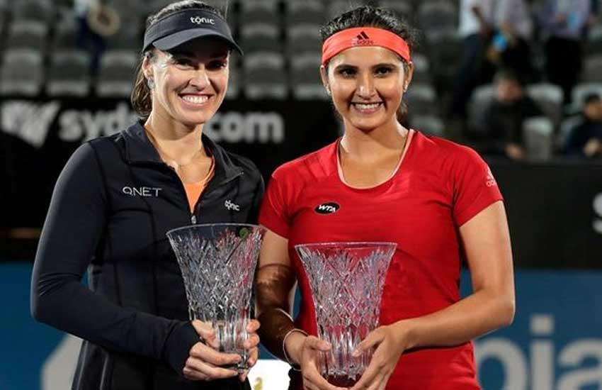 Martina Hingis, Sani Mirza, WTA rankings, tennis star sania & martina hingis, sports news