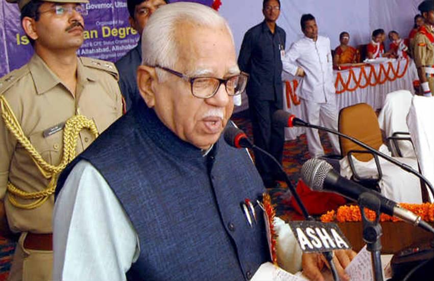 ram naik, UP governor ram naik, CM akhilesh Yadav, Stormy start to UP Budget session, up news