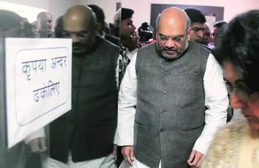 Amit shah, amit shah BJP, anti-national slogan, bjp on anti-national slogan, amit shah in uttar pradesh, UP assembly elections, uttar pradesh BJP, UP BJP workers, अमित शाह, भाजपा, देश विरोधी नारे, अमित शाह उत्तर प्रदेश, अमित शाह यूपी, भाजपा कार्यकर्ता