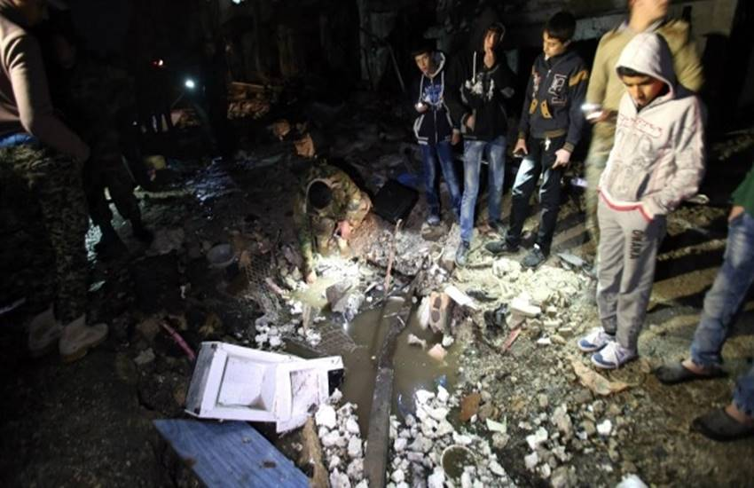ISIS are blamed for Syria bomb blasts in Homs which kill 119