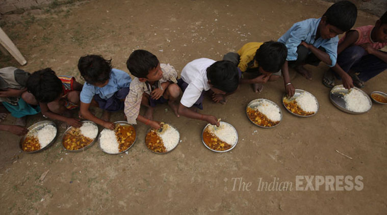 jansatta editorial, mid day meal service, education system of india, bjp government