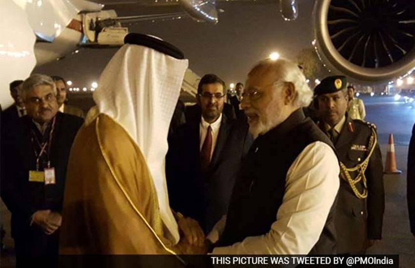 Sheikh Mohammed Bin Zayed Al Nahyan,Prince of Abu Dhabi , Narendra Modi, United Arab Emirates, External Affairs Minister Sushma Swaraj, World news