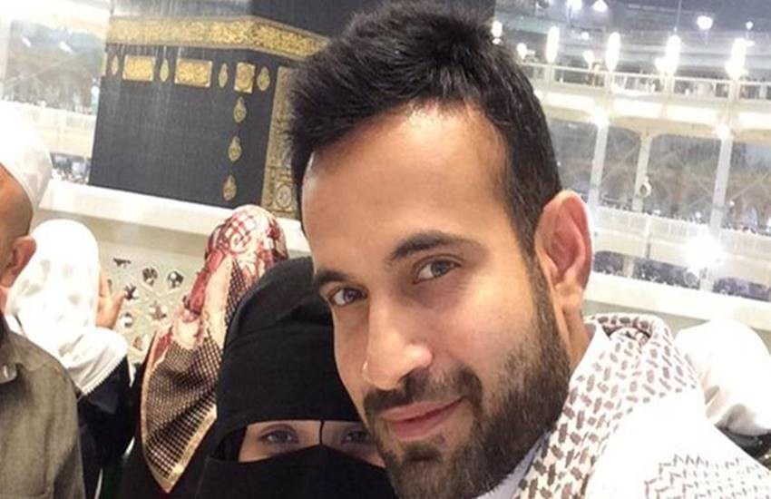 Irfan Pathan, Indian all-rounder Irfan Pathan, model Safa Baig, Irfan posted a picture