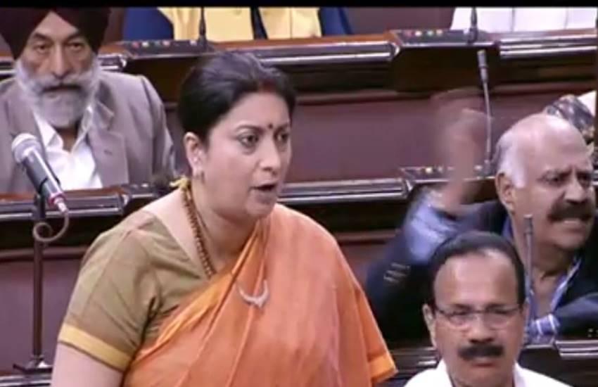 Smriti Irani, Lok Sabha, Uttar Pradesh, RTE