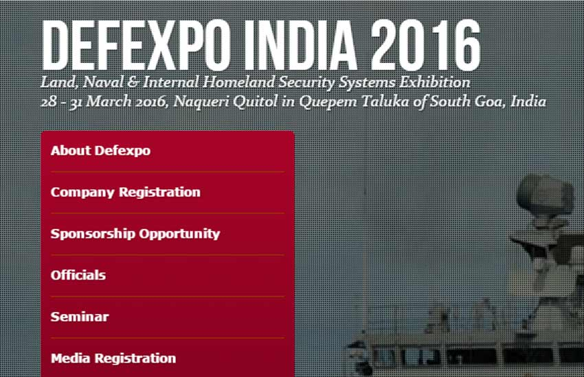 defexpo india 2016, defexpo india, defexpo 2016, Goa, Defence Ministry
