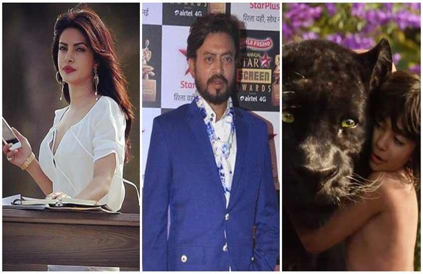 Priyanka Chopra, Irrfan Khan, Jungle Book, Jungle Book Hindi version, Nana Patekar, Shere Khan, Bollywood