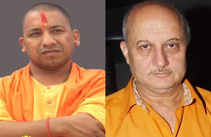 Anupam Kher,Yogi Adityanath,Sadhvi Prachi, National news, Intolerance, BJP, Kolkata news
