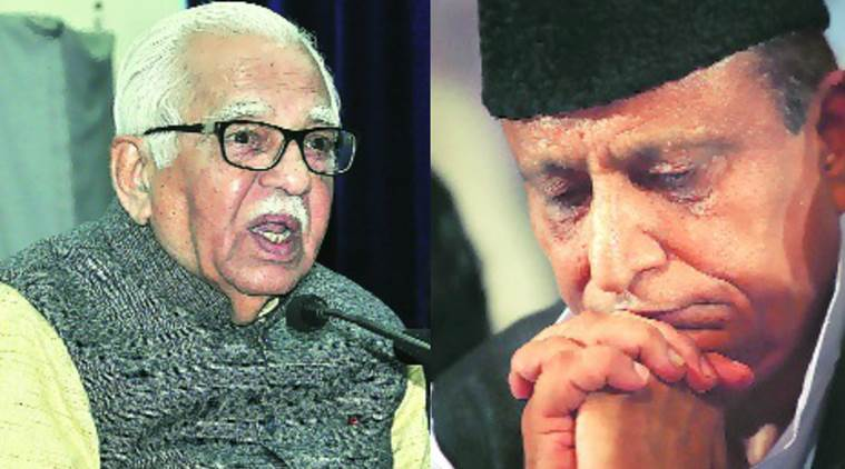 Ram naik, Azam Khan, Ram Naik, samajwadi party, UP Vidhan sabha, UP Govt, BJP, RSS, Governer UP, UP News,