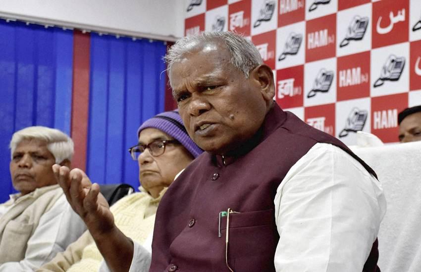 Jitan ram manjhi, Lalu yadav, Nitish kumar, Tejashwi Yadav, Bihar politics, Cbi raid, Cbi raid on Lalu yadav, RJD, JDU, BJP, HAM, Bihar news, Patna news, Hindi news