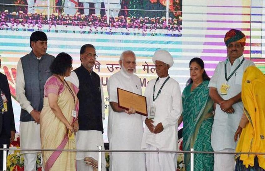 """""""Modi to farmers, Agriculture in India, PM Modi, Modi talks to farmers, Krishi Unnati Mela, Prime Minister Narendra Modi, Modi government, Green Revolution, MNREGA"""