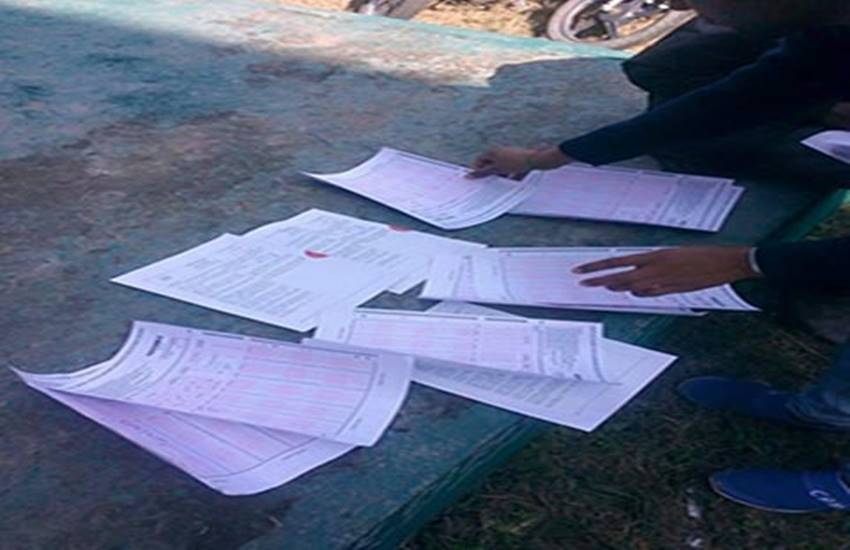 copy of disease, board exam, Up governemnet, mockery, cheating